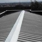 Instalação rufos telhado